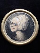Carl Nagel-Diek - Portrait einer jungen Dame - Art Deco -