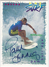 New listing 1994 FUTERA HOT SURF SIGNATURE AUTO: TOM CARROLL - AUTOGRAPH NATIONALS EXCLUSIVE