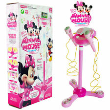 MICKEY MINNIE MOUSE MUSICAL INSTRUMENT KID CHILD MICROPHONE LED EDUCATIONAL TOY