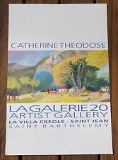 Catherine Theodose La Galerie 20 La Villa Creole Saint Jean Barthelemy Exhibit