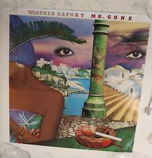 """Rare WEATHER REPORT MR GONE 1978  PROMO POSTER 23"""" x23"""" JACO!  beautiful!"""