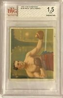 PHILA. JACK O'BRIEN 1910 T218 Mecca Champions Boxing #138 Beckett BVG BGS 1.5