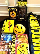 Watchmen Ultimate Cut 5-disc DVD Boxed Set w Graphic Novel Shirt SDCC Bag + MORE