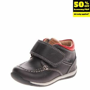 GEOX RESPIRA Baby Leather Sneakers EU20 UK3.5 US4.5 Breathable Flexy System Logo