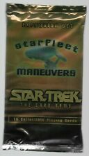 1996 Star Trek The Card Game Starfleet Maneuvers sealed Booster Pack 15 cards