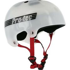 Protec Bucky Lasek Skateboard Skate Park Helmet TRANS WHITE L 57-58 cm