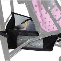 Poussette de bébé, sac de stockage portatif de panier de bébé TRFR