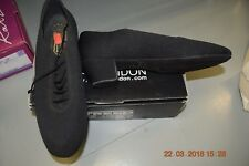 Black Softweave Freed compétition Homme Salle de Bal/Danse Latine Chaussures-Taille UK 7.5