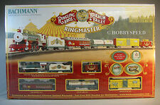 BACHMANN HO RINGMASTER RINGLING BROS TRAIN SET ez track circus engine 00714