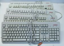 Lot Of 5 Vintage Compaq Wired Keyboards 166516-006 269513-001 123754-001