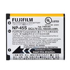 ✅ Fujifilm np45 np-45 BATTERIA j10 j100 j110w j120 j150w j15fd j25 j250 j26 j35 j38
