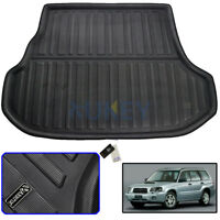 Rear Trunk Mat For Subaru Forester 2003-2008 Cargo Boot Liner Floor Tray Carpet