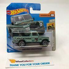 SHORT CARD * Land Rover Series III Pickup Green * 2020 Hot Wheels Case B HD14