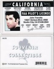 fun FAA Pilot's License Studio City California CA drivers License fake id card
