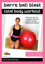 STABILITY BALL FUSION EXERCISE DVD - Barlates Body Blitz BARRE BALL BLAST!