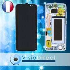 Ecran complet pour Samsung Galaxy S8 G950F bleu vitre tactile+LCD sur chassis