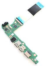 OEM ASUS X102B X102BA Power Button USB IO Board 60NB0360-IO1020-201 with Ribbon