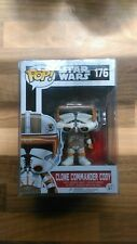 clone commander cody funko  with pop protector