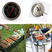 1PC Outdoor Barbecue BBQ Pit Smoker Grill Thermometer Temp Gauge 50°C - 350°C H