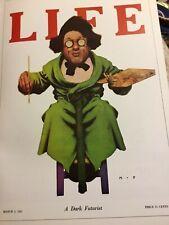 Art Nouveau Poster Print Color By Maxfield Parrish A Dark Futurist