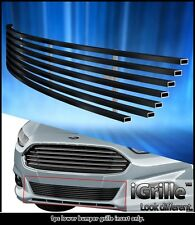 Fits 2013-2016 Ford Fusion Stainless Steel Bumper Billet Grille
