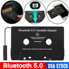 Car Bluetooth 5.0 Audio Stereo Cassette Tape Adapter To Aux for iphone Samsung