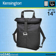 "Kensington LC140 13/14"" Convertible Laptop + Tablet Backpack/Carry Case K62620WW"