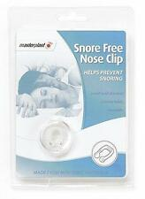 Master Plast Snore Free Nose Clip Re-Usable Helps Prevent Snoring Bed Time