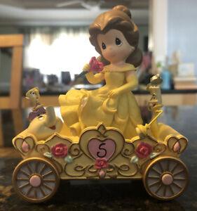 Precious Moments Disney Showcase BELLE #5 Birthday Parade Car Figurine NEW