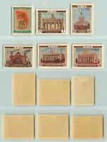 Russia, USSR, 1954 SC 1729-1734, Z 1693-1698 mint. d9727