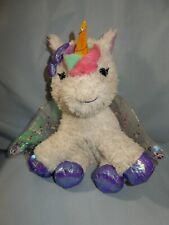 "Barbie Kiss and Care 10"" Unicorn Pet Doctor Light-Up Horn Sounds Stuffed Plush"