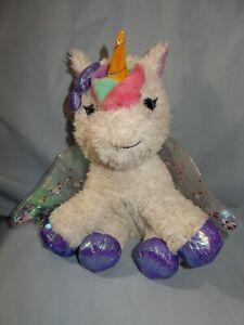 "Barbie Kiss and Care 10"" Unicorn Pet Doctor Light-Up Horn Sounds Stuffed Plush"