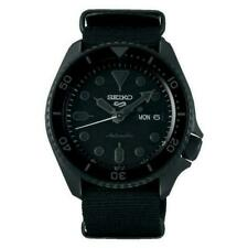 Seiko 5 Sports Men's Black Watch - SRPD79