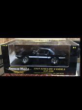 1969 Shelby Mustang GT350 BLACK 1:18 Ertl American Muscle 32955