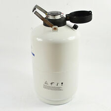 NEW Tank+6pcs Pails 3L Liquid Nitrogen Dewar Cryogenic Container+Lock cover LN2