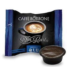 200 capsule caffè BORBONE miscela BLU compatibili Lavazza a Modo Mio cialde