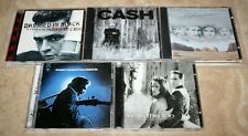 lot of 5 JOHNNY CASH CDs San Quentin Unchained Highwaymen Walk The Line Tribute