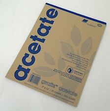 Grafix Acetate 9x12Inch, 25 Sheets, 003 Clear