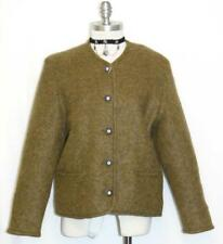 DISTLER / GREEN ~ WOOL & MOHAIR ~ Women German Winter Dress JACKET Coat 40 12 M