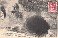 SACHE 40 château la grotte de balzac timbrée 1933