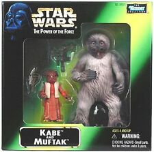 Star Wars Power of the Force - Mail In Kabe & Muftak Action Figures