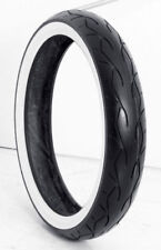 """VEE RUBBER 120/70-21"""" WHITE WALL FRONT TIRE 4 HD FLTRX/FLHR FOR 21"""" X 3.5"""""""