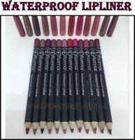 Flormar WATERPROOF LIPLINER Classic Soft Lip Pencil Different Colors