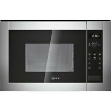 Neff H11WE60N0G Built In Microwave - Stainless Steel