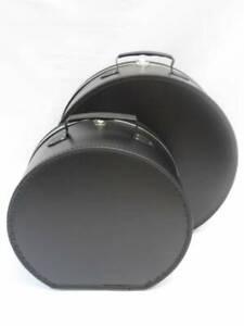 Loevenich Hutkoffer schwarz 40cm Hutschachtel Hutkarton Karton Schachtel