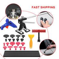 Auto Kit Paintless Dent Repair Removal Glue Gun & Puller Lifter T-Bar Hand Tools