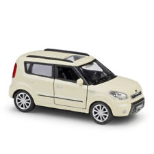 1:36 KIA Soul Model Car Diecast Toy Vehicle Kids Gift Collection Pull Back Beige