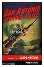 SAN ANTONIO 238 T1 SAN ANTONIO RENVOIE LA BALLE  rééd  1964  BE+