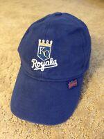 Vintage Kansas City Royal MLB Hat Budweiser Blue Adjustable