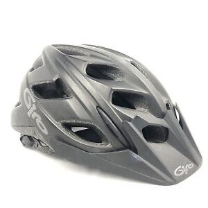 Giro Hex Cycling Helmet Matte Black With Visor Small (51-55cm) MTB Bicycle